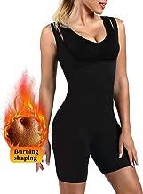 Cestbon Deportes Aptitud Mono Mujer Sauna Sudor Traje Neopreno Adelgazante Fajas Completo Cuerpo Moldeador Adecuado por Ejercicio Rutina De Ejercicio Gimnasio Disfraz