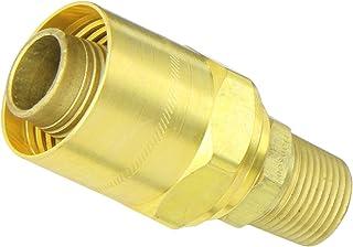 1//8-27 NPTF Male 1//4 Hose ID 1//2 Hose OD 1//8-27 NPTF Male 1//2 Hose OD 1//4 Hose ID Eaton Hansen 1B3 Brass Compression Hose Clamp