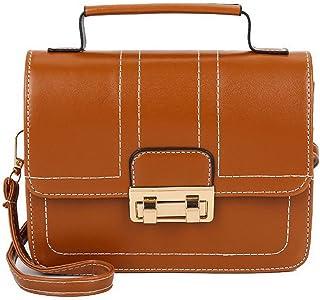 VogueZone009 Women's Tote Bags Shopping Casual Pu Crossbody Bags,CCABO205388