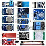 KOOKYE 16 in 1 Smart Home Sensor Modules Kit for Arduino Raspberry Pi DIY Professional