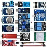 KOOKYE 20 in 1 Sensor Modules Kit Smart Home for Arduino/Raspberry Pi