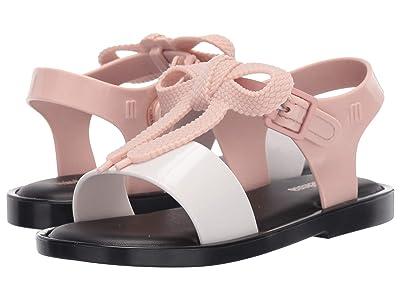 Mini Melissa Mini Mar Sandal (Toddler/Little Kid) (Black) Girls Shoes