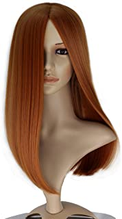 Miss U Hair Women Long Straight Party Cosplay Costume Full Wig Halloween Hair