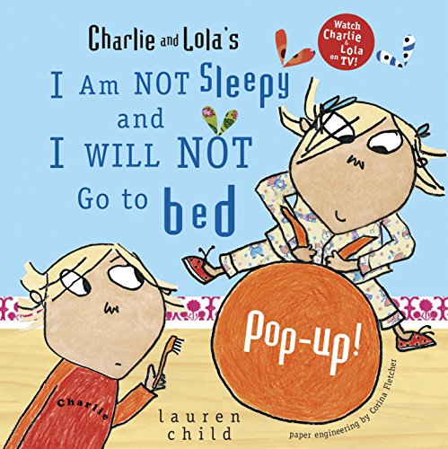 I Am Not Sleepy and I Will Not Go to Bed Pop-up