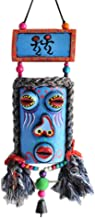 Colorful Mask Totem Pendant China Folk Abstract Art Wall Hanging Decor Wall Art for Room, A