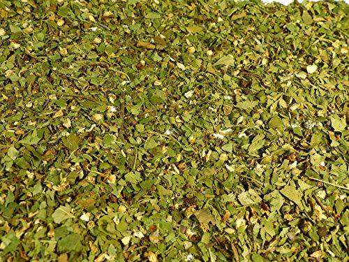 Weißdornblätter mit Blüten geschnitten Naturideen® 100g