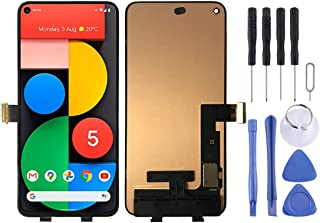SHUHAN LCD Screen Phone Repair Part new OLED Material LCD Screen and Digitizer Full Assembly for Google Pixel 5 GD1YQ GTT9...