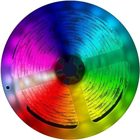 muvit iO Tira LED WiFi Multicolor 5 Metros Compatible con asistentes de Voz