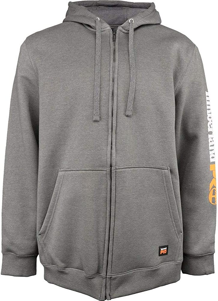 Timberland PRO Men's Big and Tall Honcho Full-Zip Hooded Sweatshirt