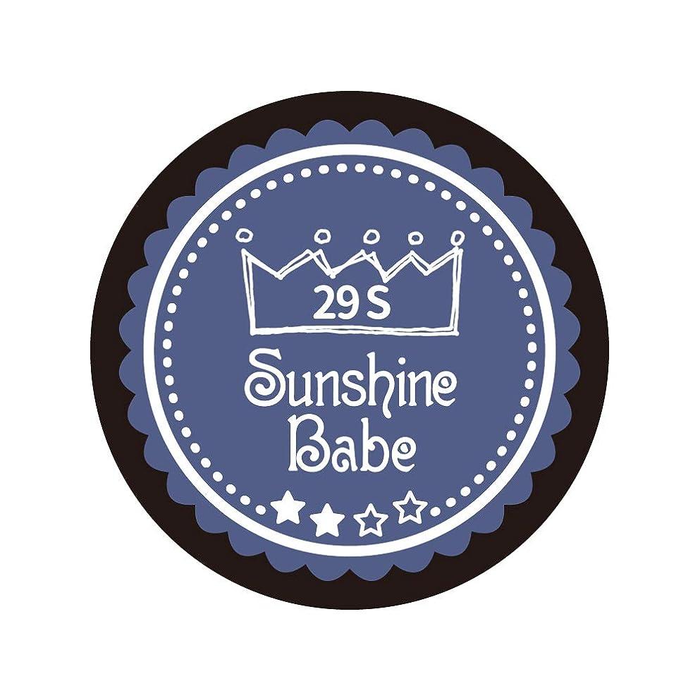 平和困惑する感染するSunshine Babe コスメティックカラー 29S ネイビーグレー 4g UV/LED対応