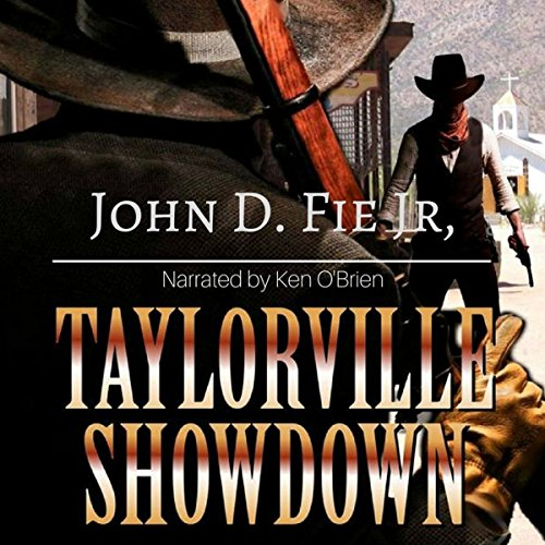Taylorville Showdown audiobook cover art