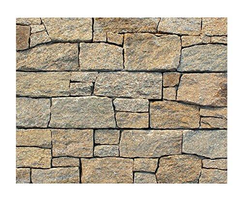 W-003 Wanddesign Wandverblender Steinwand Granit Wandverkleidung - 1 Muster - Natursteinfliesen Lager Verkauf Stein-Mosaik Herne NRW