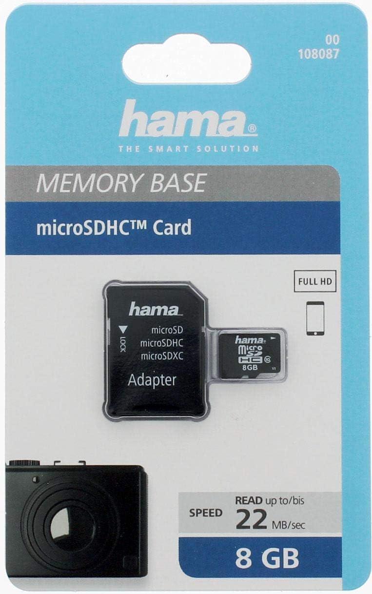 Hama Class 10 16gb Microsdhc Speicherkarte Inkl Sd Computer Zubehör