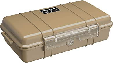 Waterproof Case   Pelican 1060 Micro Case - for iPhone, GoPro, Camera, and More (Desert Tan)