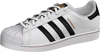 Adidas ORIGINALS Women's Superstar Sneaker, White/Black/White, 5