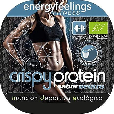 Energy Feelings Crispy Protein ecológico - 400g | proteina 40 ...
