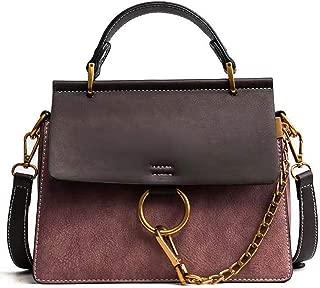 Women's Vintage Shoulder Bags Top Handle Handbags Crossbody Ring Bag Designer Purse