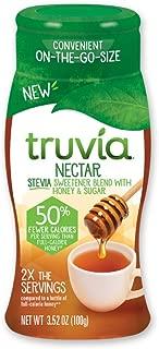 Truvia Nectar, Stevia Sweetener and Honey Blend, 3.52 oz Bottle