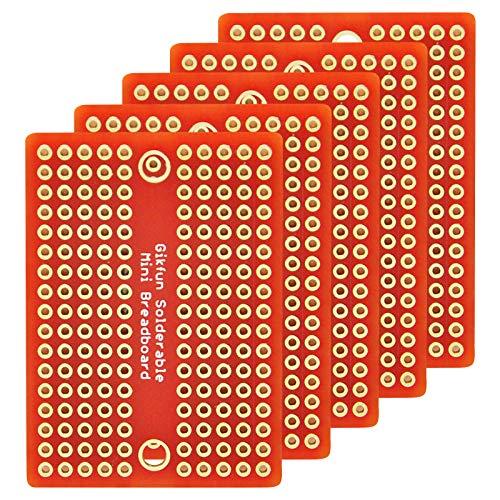Gikfun Mini solder-able acabado chapado oro placa
