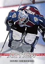 2003-04 In The Game Action Hockey #184 David Aebischer Colorado Avalanche