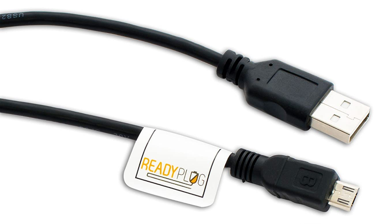 ReadyPlug USB Cable for Charging Link AKC Smart Collar (0.5 Feet, Black)