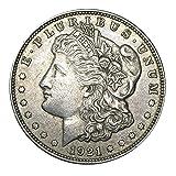 1921 Morgan Dollar Circulated Condition 90% Silver Set Very Good