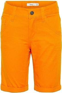 NAME IT Bermuda Sofus Mini Naranja para Niño