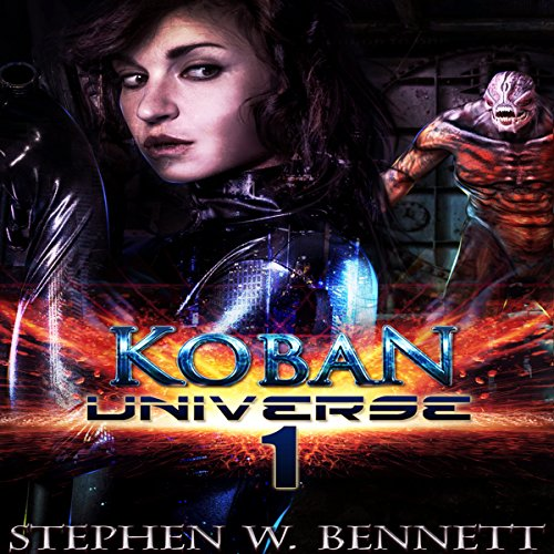 Koban Universe 1 audiobook cover art