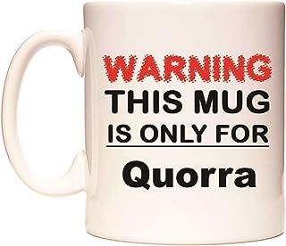 WARNING THIS MUG IS ONLY FOR Quorra Tasse de WeDoMugs
