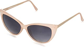 A.J. Morgan Sunglasses Women's Oscar Worthy 40175-PEA Cateye Sunglasses, peach, 50 mm