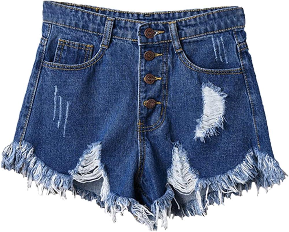 NP Denim Shorts Women's Black Women Short Jeans Khaki Wide Leg Waist Waist Shorts