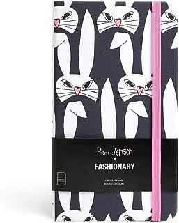 Peter Jensen X Fashionary Rabbit Mask Ruled Notebook A6
