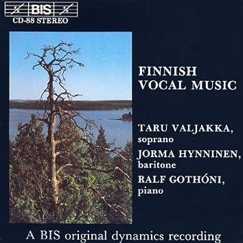 Finnish Vocal Music