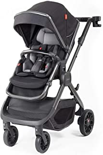 Diono Quantum2, 3-in-1 Luxury Multi-Mode Stroller, Black Cube