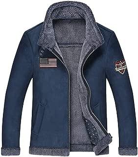 Winter Outerwear Mens Faux Fur Coat Leather Jacket