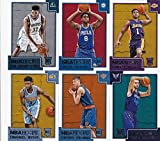 2015 2016 Hoops NBA Basketball Series Complete Mint 300 Card Set with Stars and Rookies Lebron James Stephen Curry Kristaps Porzingis and More. rookie card picture