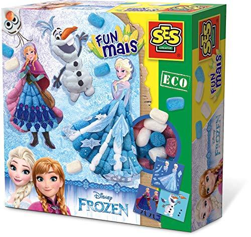 SES Eco 24992 - Funmais Frozen, Kinder Bastelset, blau