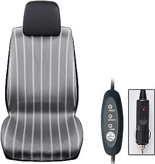Cojín de masaje de coche Asiento de invierno cojín de ventilación calefacción cojín del asiento de coche 12V 24V cojín del secador del pelo cojín de enfriamiento del camión (Tamaño : 12V)