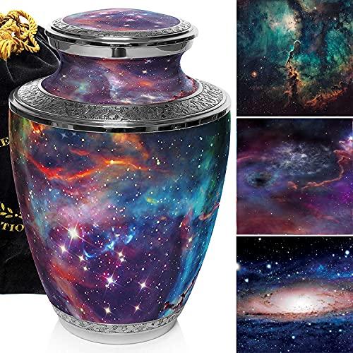 Cosmic Galaxy Universe Cremation Urn