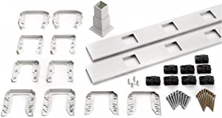 Trex Transcend 67.5 in. Composite White Square Baluster Stair Accessory Kit