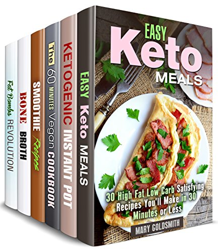 Keto and Detox Box Set (6 in 1): Learn How to Make Amazing Ketogenic Meals, Fat Bombs, Detoxifying Smoothies, Bone Broths and Vegan Dishes (Special Diet & Weight Loss)