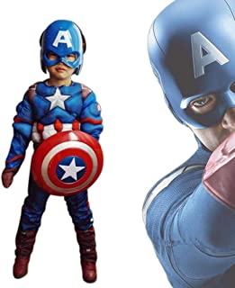 Auralto Captain America Classic Muscle Costume