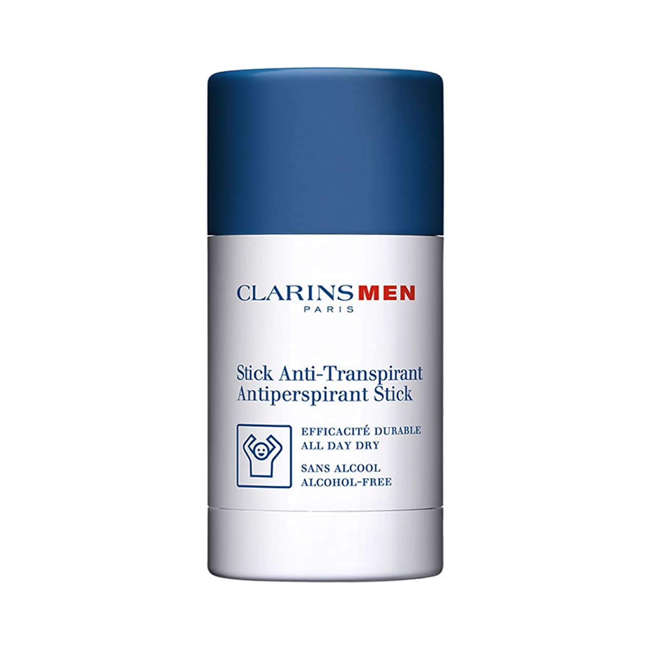 高音不名誉な理論Clarins Men Antiperspirant Stick 75gr [並行輸入品]