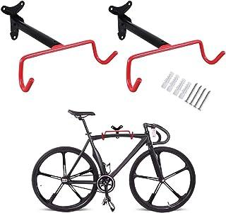 PHUNAYA Bike Hanger Wall Mount Bike Hook Horizontal...