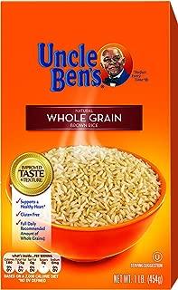 UNCLE BEN'S Whole Grain Brown Rice, 16oz., (12pk)