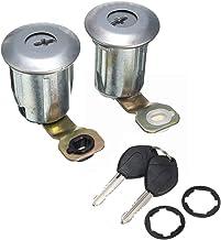 YMQ Store 1 Set Barrel Lock Set Auto Deursloten Sleutelinrichting Fit voor PEUGEOT PARTNER XSARA/FIT VOOR CITROEN BERLINGO...