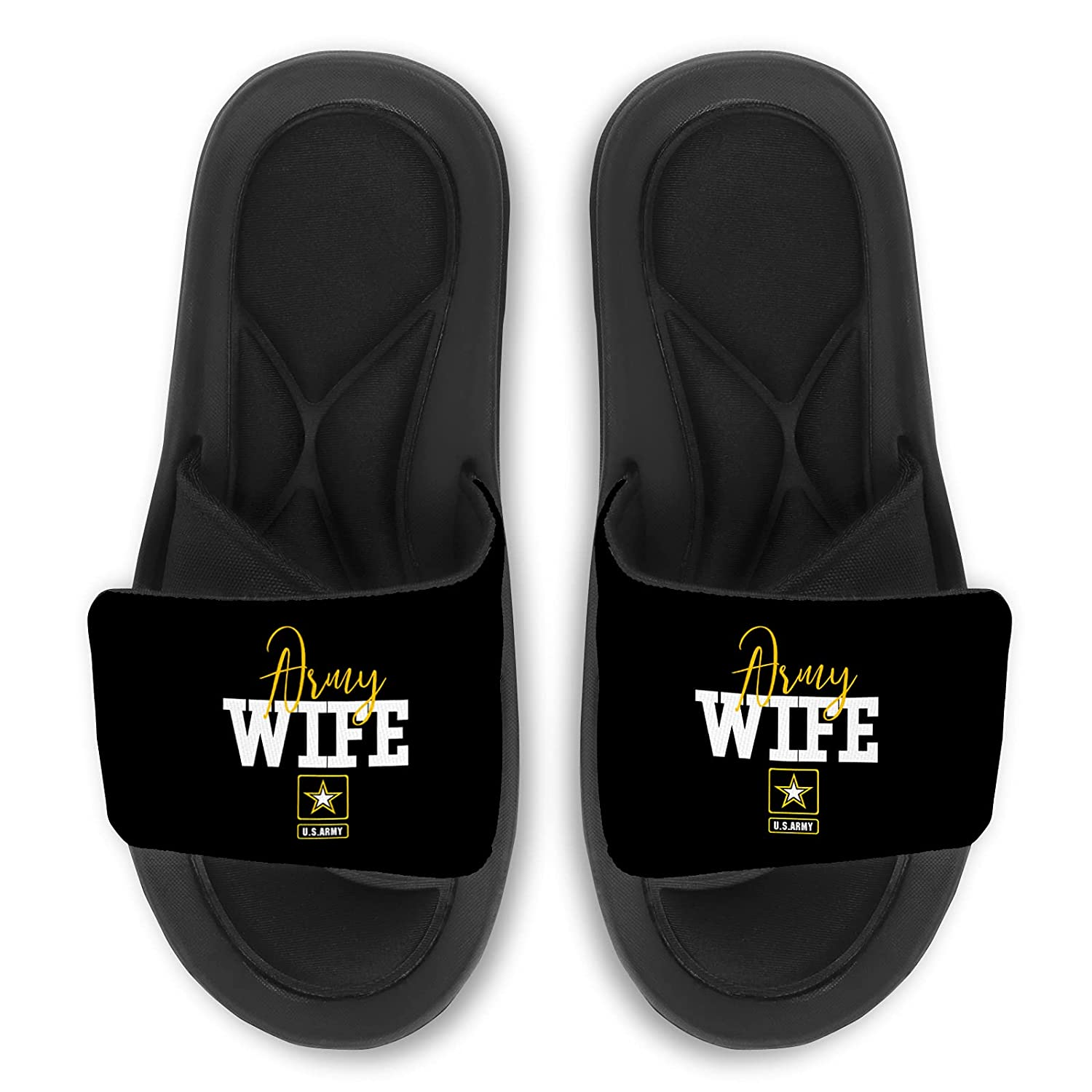 Army Wife Slides Cheap mail order specialty store Max 71% OFF