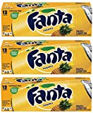 Fanta Pineapple 12 FL OZ (355ml) - 12 Cans inkl. 3,00 Euro DPG-PFAND