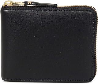 COMME des GARCONS CLASSIC WALLET コムデギャルソン 財布 二つ折り ラウンドファスナー 本革 ブラック 黒 SA7100 [並行輸入品]
