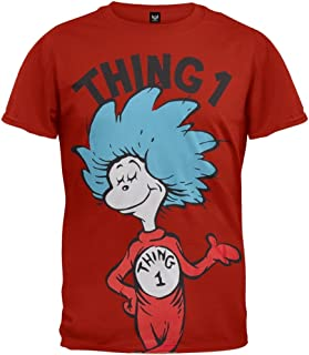 Thing 1 or Thing 2 Adult Red T-shirt